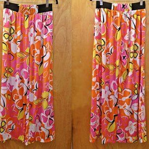 NWOT - Magic Pantz Floral Print Palazzo Pants